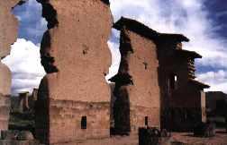 Temple de Viracocha à Rqchis